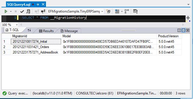 Entity Framework Code Migrations Parte II – Deshacer